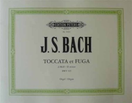 Bach Toccata et Fuga in d-moll BWV 565 Orgel Noten
