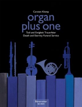 Organ plus one - Begräbnis Noten für Orgel und Soloinstrument