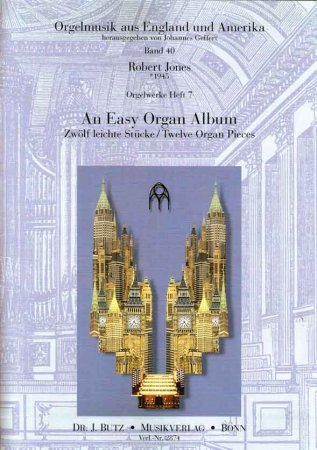 An Easy Organ Album - Robert Jones
