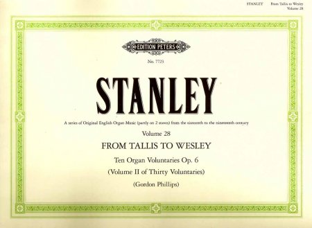 John Stanley Organ Voluntaries Op 6