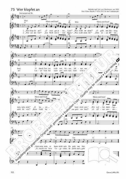 Noten Weihnachtslieder Klavier.Orgelsolo Notenversand Weihnachtslieder Fur Kinder