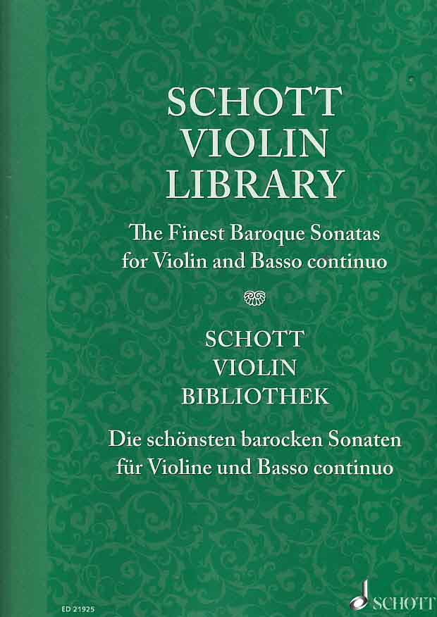 Orgelsolo Notenversand - Die schönsten barocken Sonaten für Violine ...