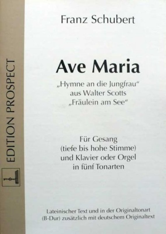 Ave Maria Schubert